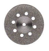 #6 Diamond Disk  Double Sided  .30  x  22mm