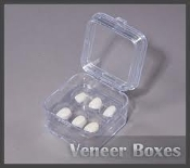 "Pillow Boxes For Veneers 2""x 2"" (100PCS)"