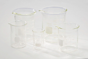 GLASS BEAKER WITH LID- 150 ML