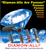 Diamon-All™ Premium Cutting Instruments (Pencil)