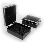"2"" Crown Boxes with pre-inserted foam fillers (100/Box)"