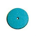 Rubber Polishing Wheels Blue For Metal & Porcelain (100 Pcs)